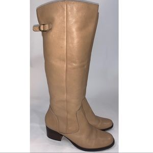 Matisse Rio Grande tall leather tan riding boots 9